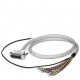 CABLE-D- 9SUB/F/OE/0,25/S/1,0M