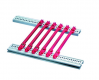 GUIDE RAIL 220D RED (10PCS)