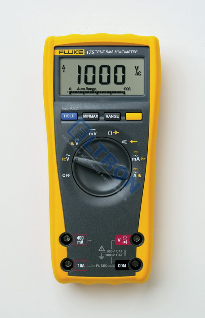 True Rms Meter : Fluke true rms multimeter