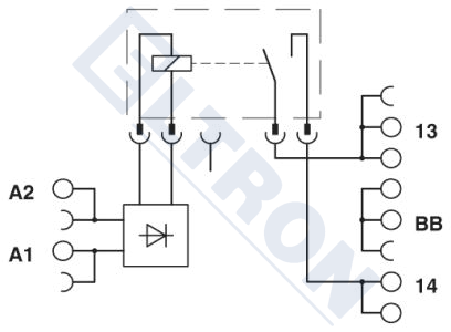 PLC-BSP- 24DC/ 1IC/ACT